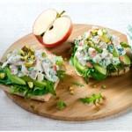 Open-Tuna-Salad-Sandwich
